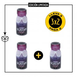 .PACK 3 POPPERS SCREAM 13ML