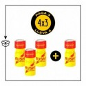 PACK 4 POPPERS RUSH UK STRONG 10ML