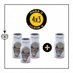 PACK 4 POPPERS CRAZY 13ML