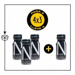 PACK 4 POPPERS INSIDE 13ML