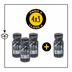 PACK 4 POPPERS ULTIMATE 13ML