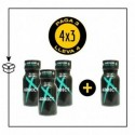 PACK 4 POPPERS ADDICT 10ML