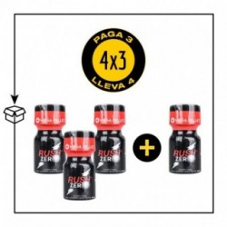 PACK 4 POPPERS RUSH ZERO 9ML