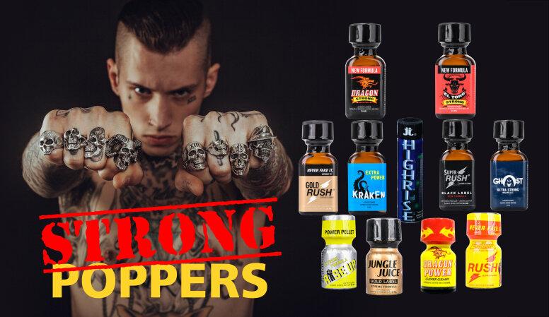 Cuál Marca de Poppers es hecha para ti?